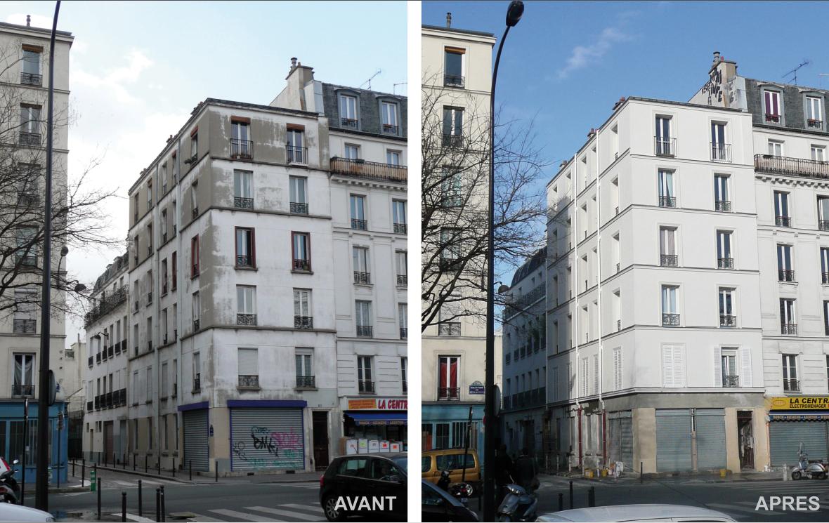 n 582 l isolation thermique par l ext rieur le cas d 39 une copropri t parisienne de 20 lots. Black Bedroom Furniture Sets. Home Design Ideas