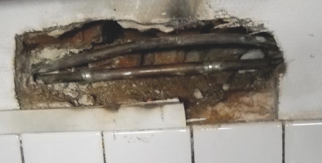 N 575 l humidit les causes et les solutions techniques - Fuite d eau tuyau cuivre ...