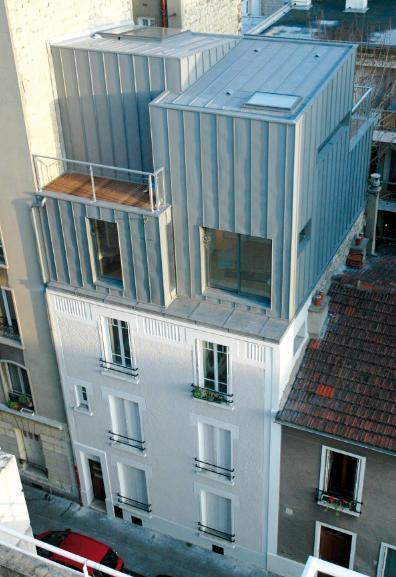 Sur l vation d 39 un immeuble ou comment construire sur son toit for Comment obtenir les plans d un immeuble