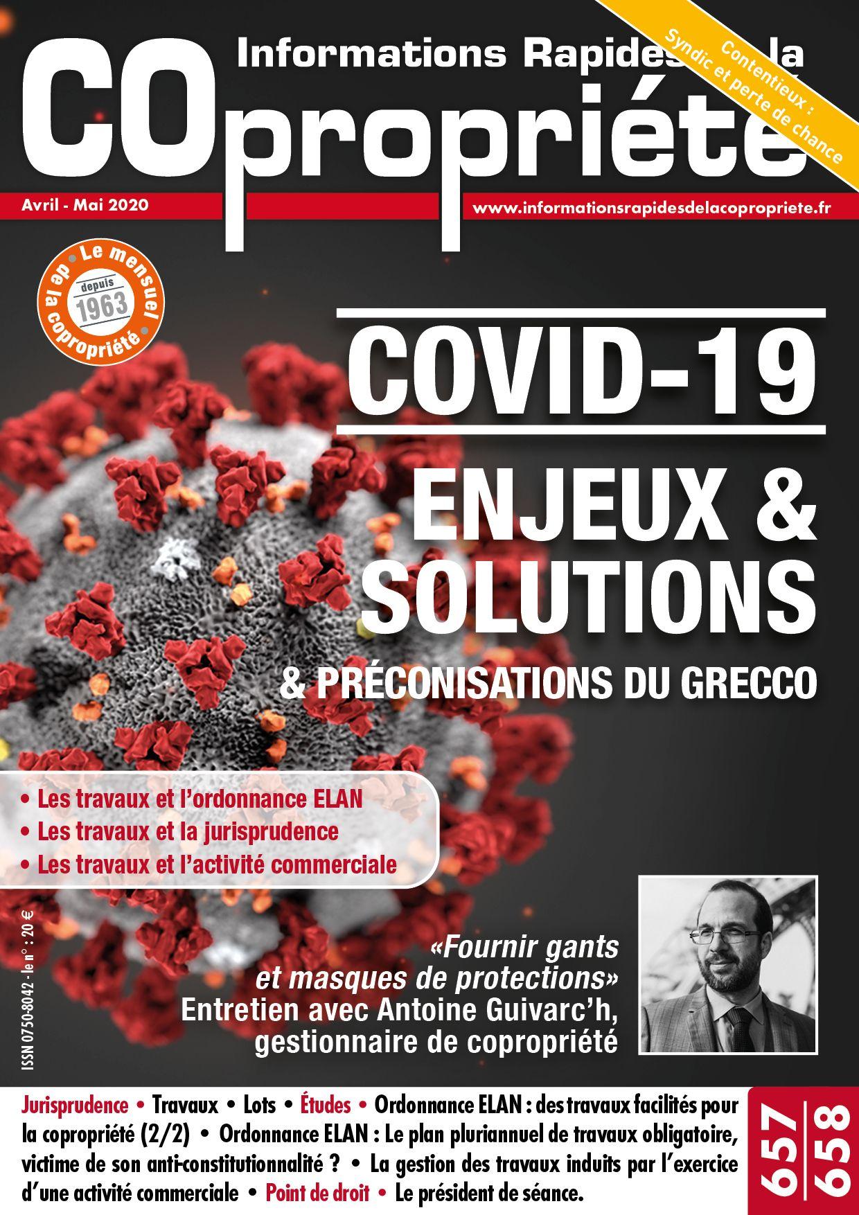 Informations Rapides de la Copropriété 657-658