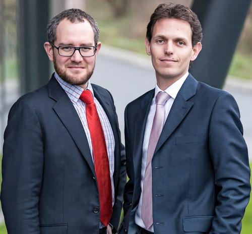 Mathieu Puichault et Laurent Charrier