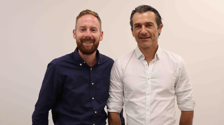 Julien Sevenier et Jérémie Carlini