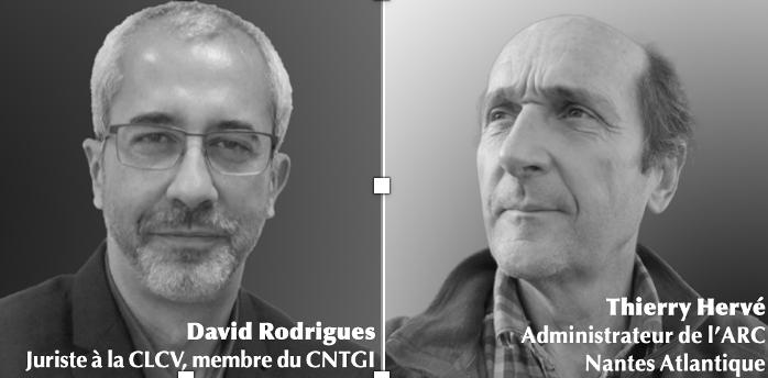 David Rodrigues et Thierry Hervé
