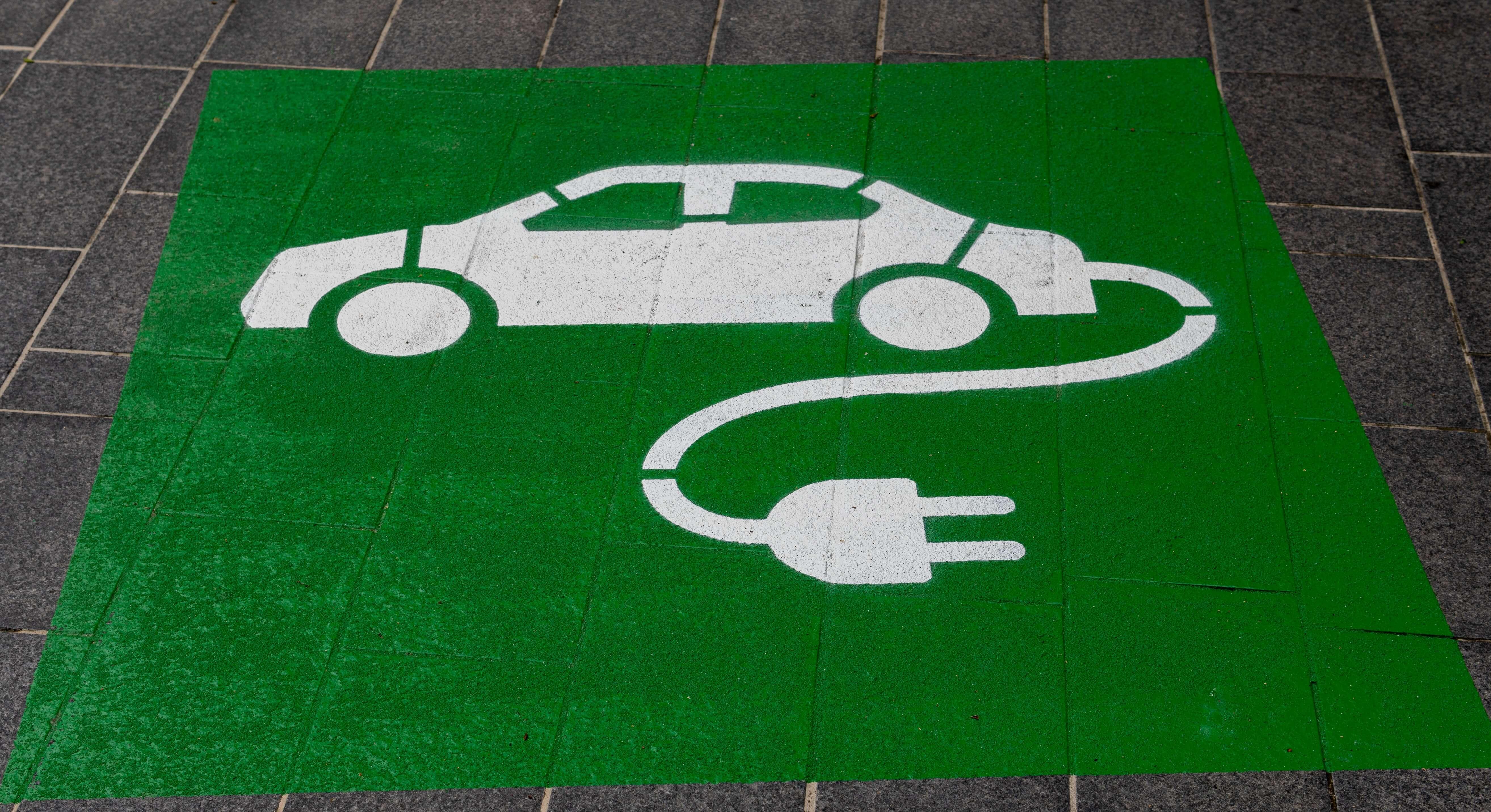 place véhicule électrique