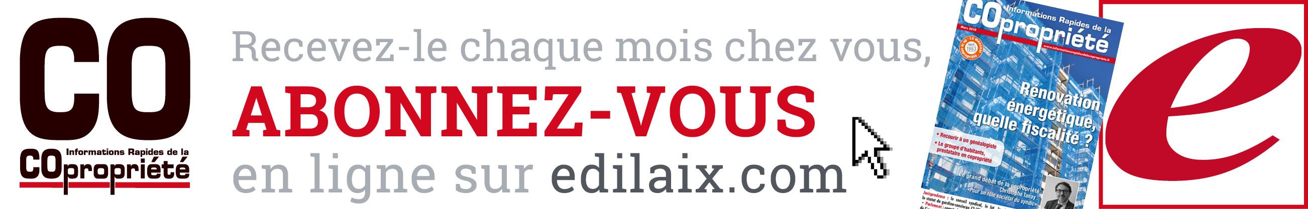 Abonnement IRC