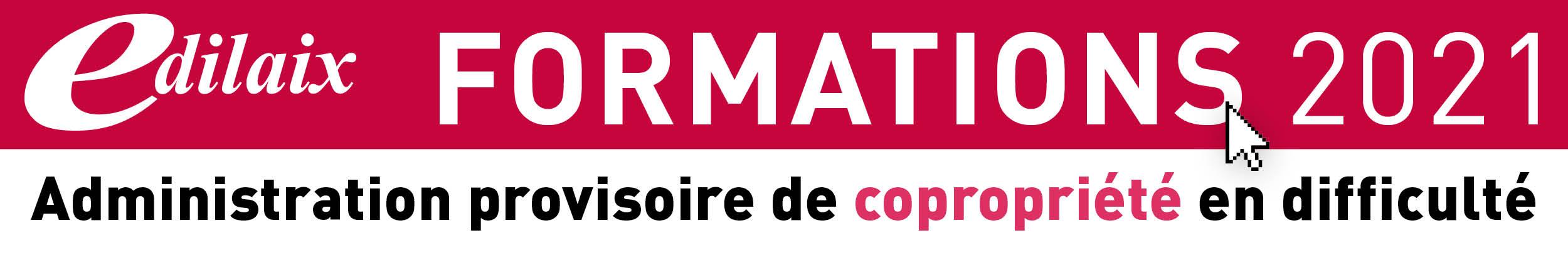 Copropriété - formation administration provisoire