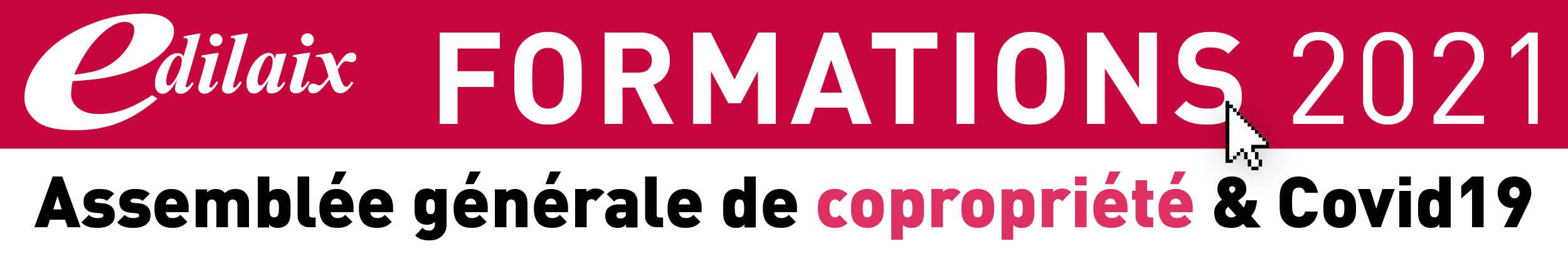 Formation copropriété : Assemblée générale & Covid19